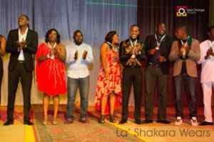 Some of the Celebrities during the award ceremony