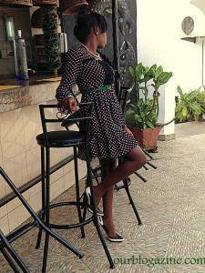 Dress: Poshe Belt: Poshe shoes: Shoecity