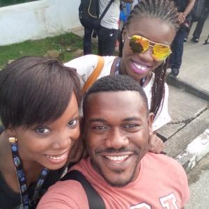 with Deyemi Okanlawon